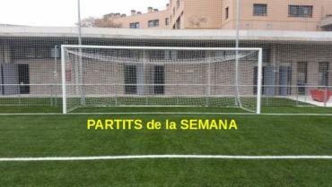 PARTITS CAP DE SEMANA 07-08-DE SEPTEMBRE