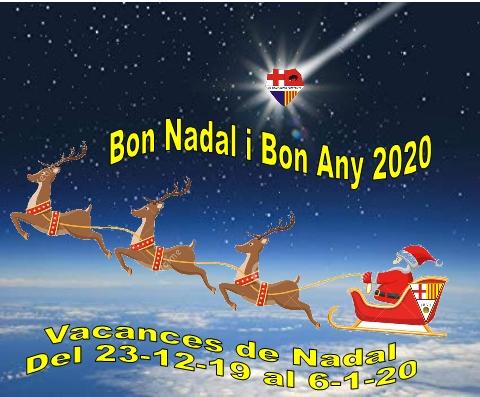 BON NADAL Y BON ANY 2020