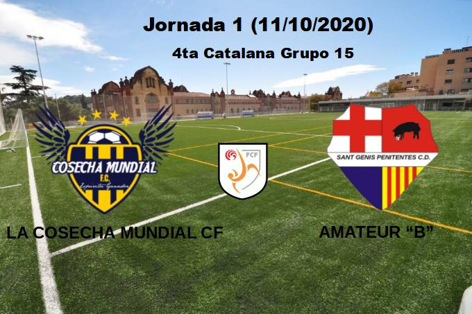 "VIDEO JORNADA 1 AMATEUR ""B"""