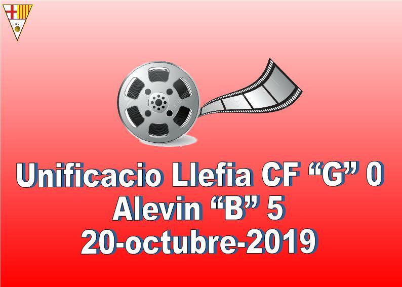 """VÍDEO PARTIT UNIFICACIÓN LLEFIA & ALEVÍ """"B""""."""