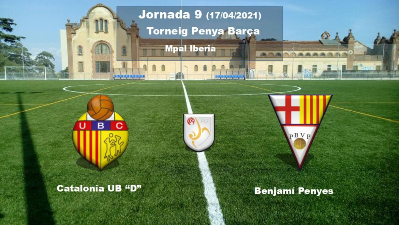 "Catalonia UB ""D"" – Benjamí Penyes"