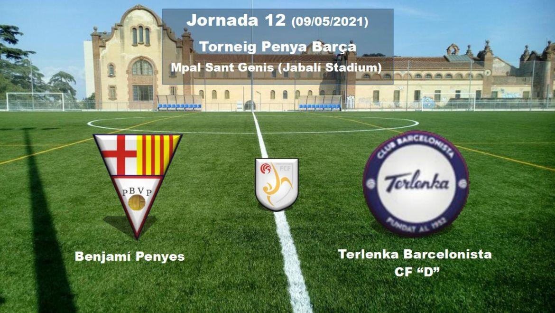 "Benjamí Penyes vs Terlenka Barcelonista CF ""D"""